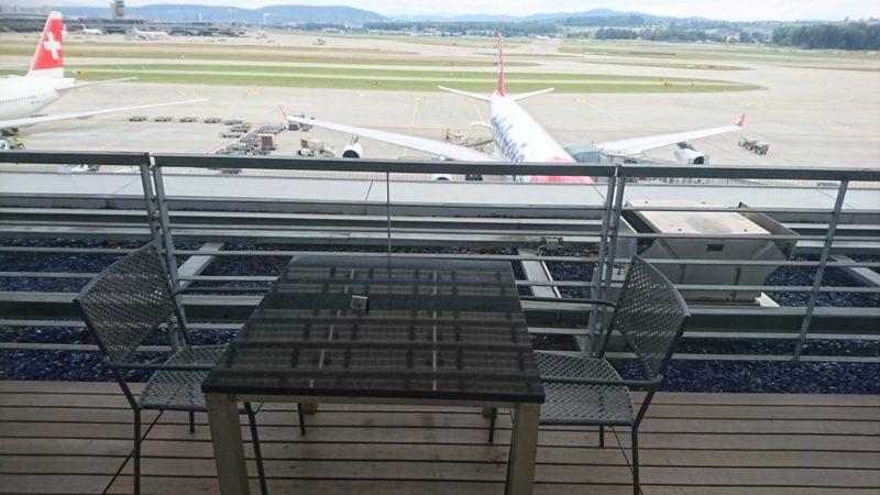 チューリッヒ空港 Aspire Lounge