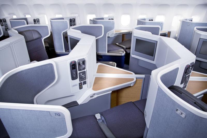 アメリカン航空 フラグシップビジネス