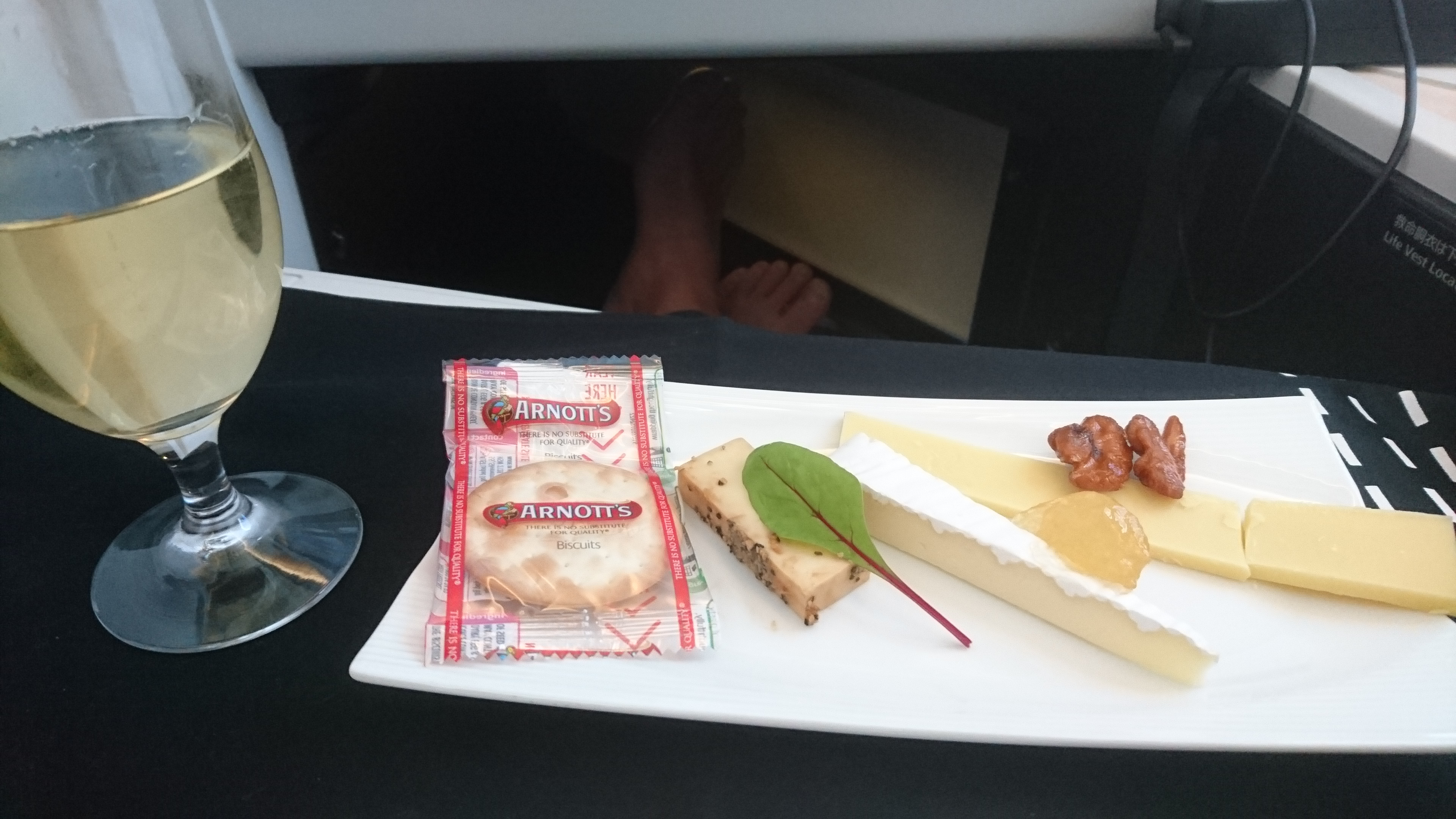 JAL 機内食 ビジネスクラス