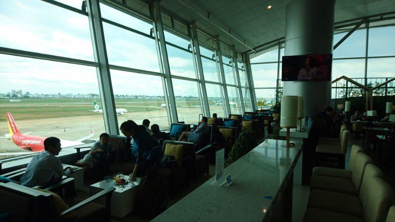 ホーチミン空港 LOTUS LOUNGE