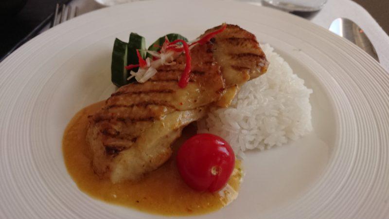 ガルーダインドネシア航空 ビジネスクラス 機内食