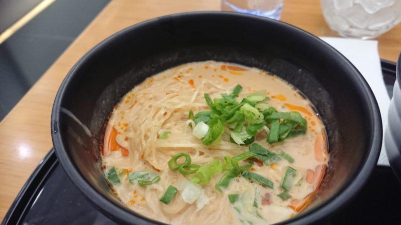 香港 ヌードルバー 坦々麺