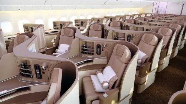 中国東方航空 ビジネスクラス