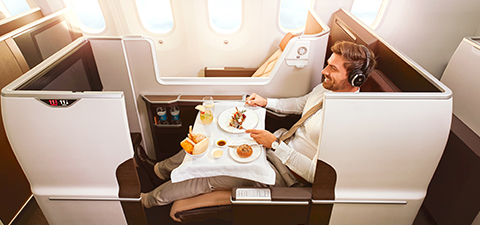 オマーン航空 ビジネスクラス