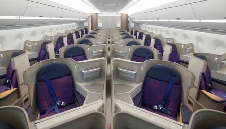 中国国際航空 ビジネスクラス