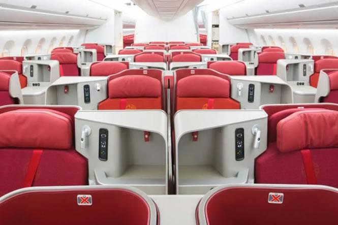 香港航空 ビジネスクラス