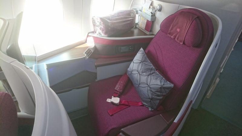 カタール航空 ビジネスクラス