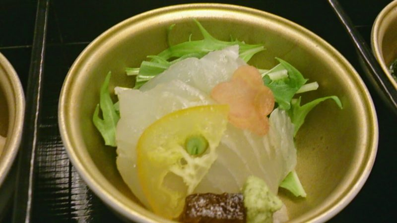 JL064 2014.01 機内食