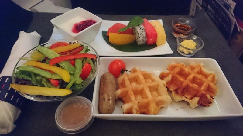 JAL034便 ビジネスクラス 機内食