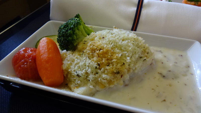 ANA ビジネスクラス 機内食