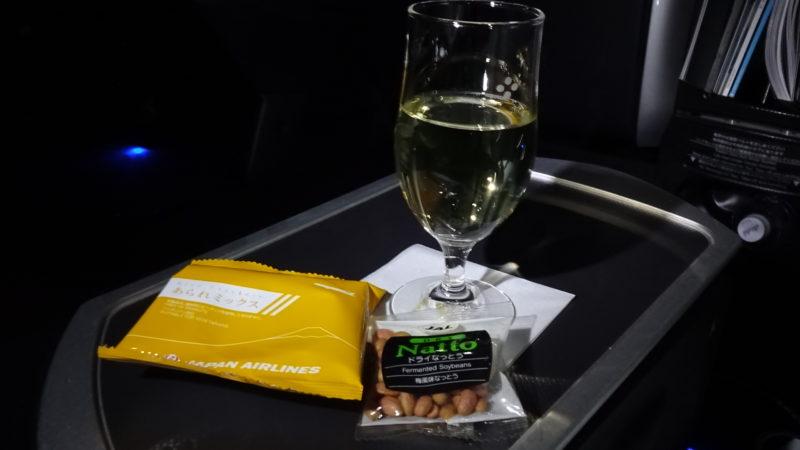 JL079便 2015.05 ビジネスクラス 機内食