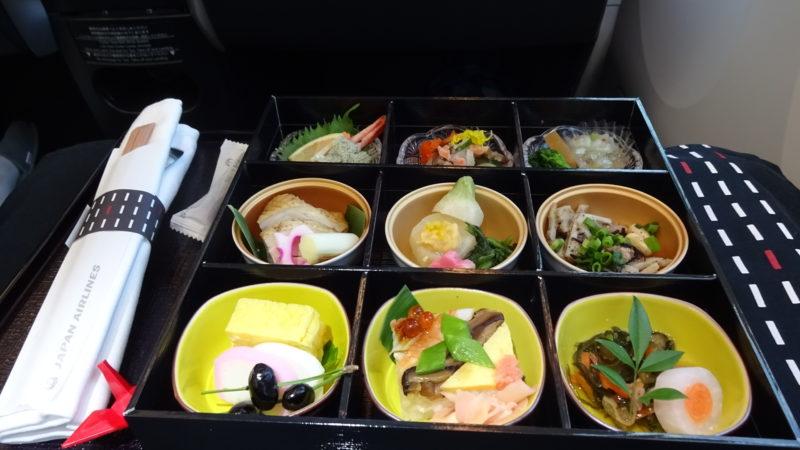 JL737 2016.2 ビジネスクラス 機内食