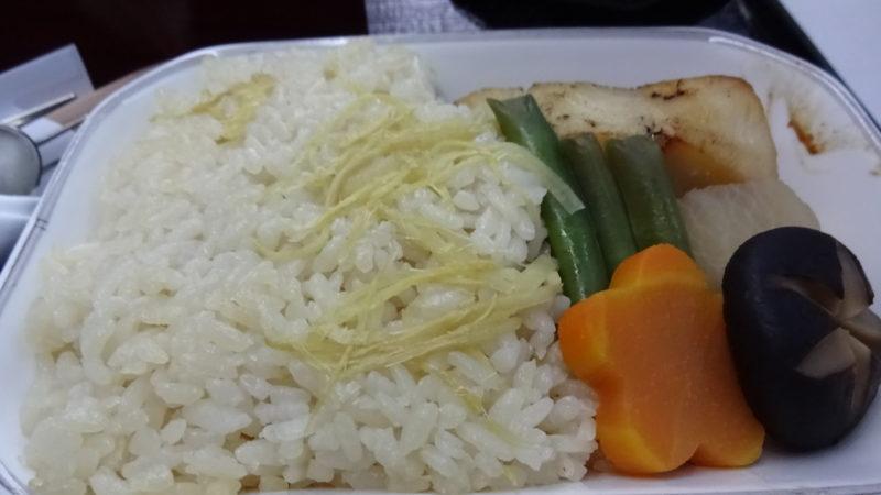 JL752 2016.2 ビジネスクラス 機内食