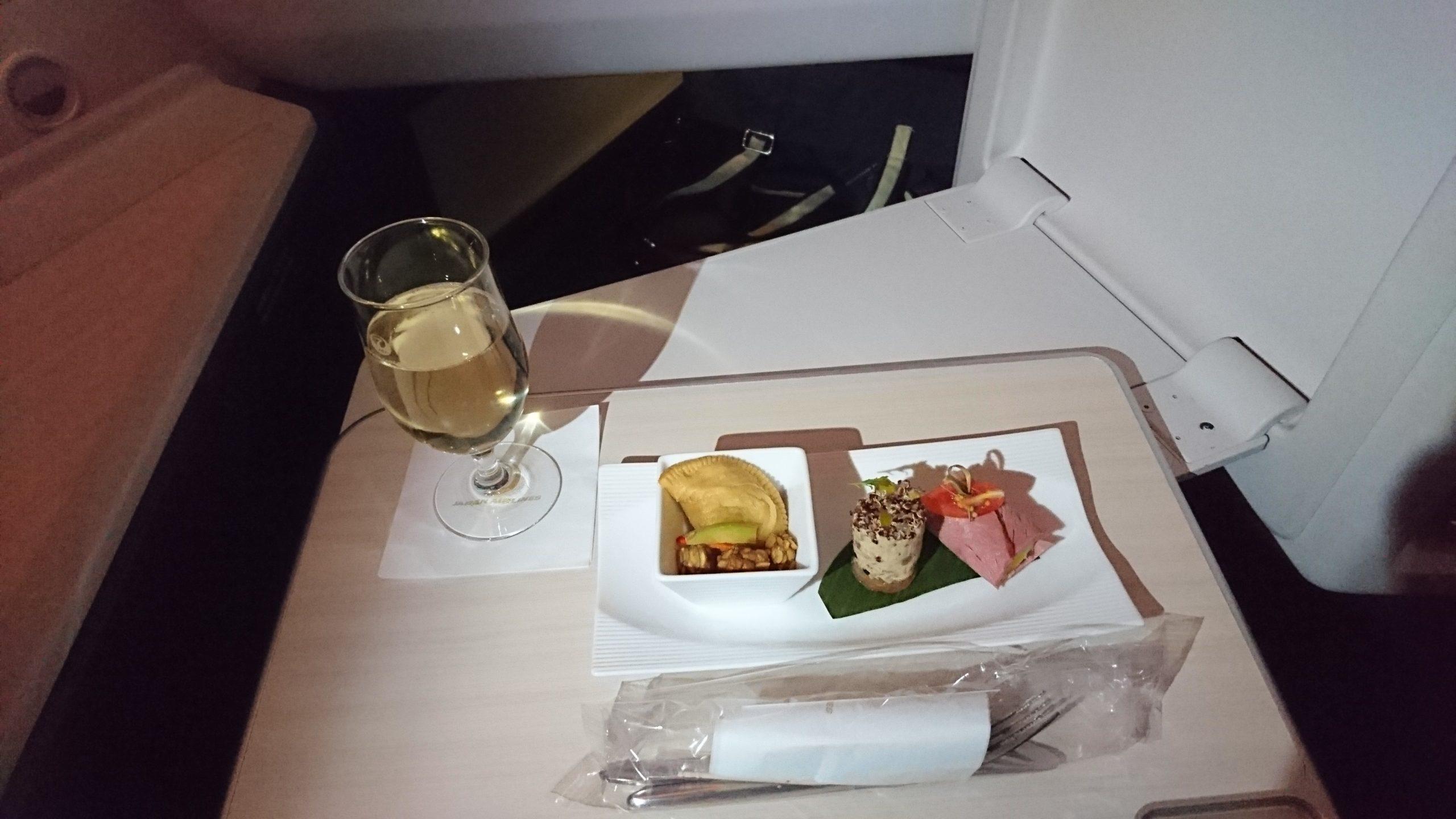 JAL 機内食 JL0724