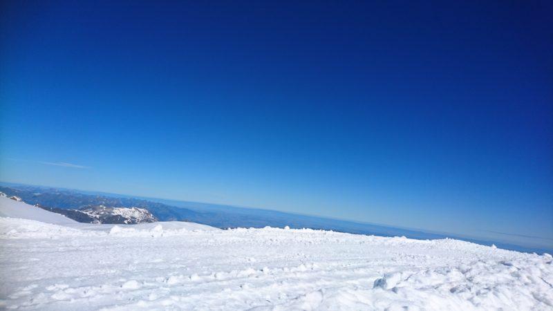 雪上プラトー
