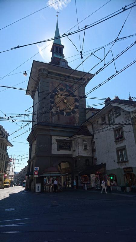 世界遺産ベルン 時計塔