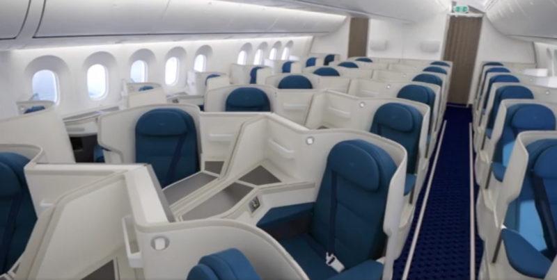 xiamen air 787-800