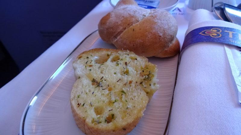 タイ航空 機内食 ビジネスクラス