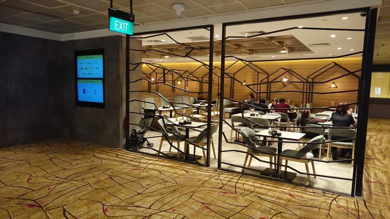 シンガポール空港 TGMレストラン