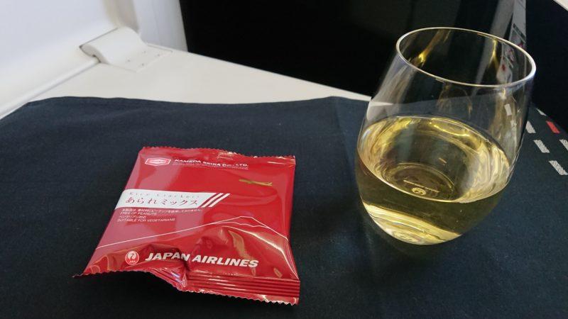 JL037 13FEB19 ビジネスクラス 機内食