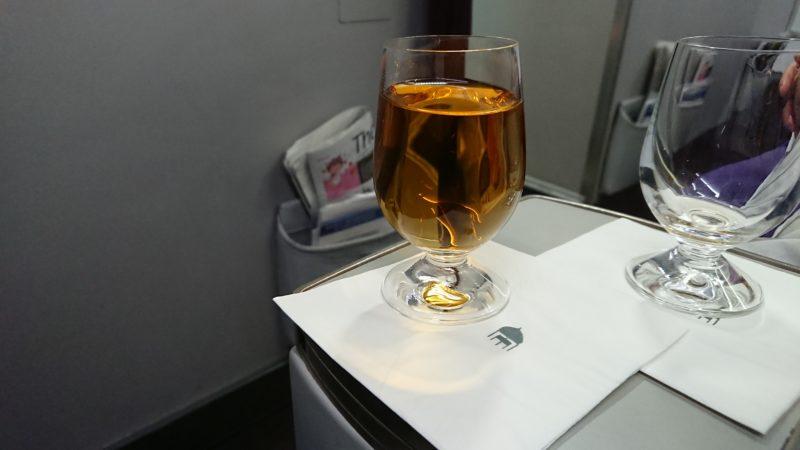 マレーシア航空 ビジネスクラス 機内食 MH616
