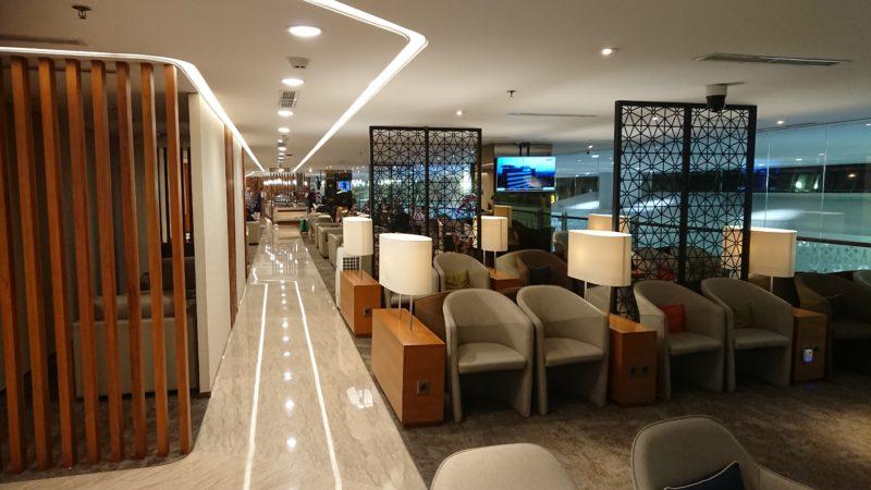 ジャカルタ空港 ガルーダインドネシア航空 ビジネスクラスラウンジ