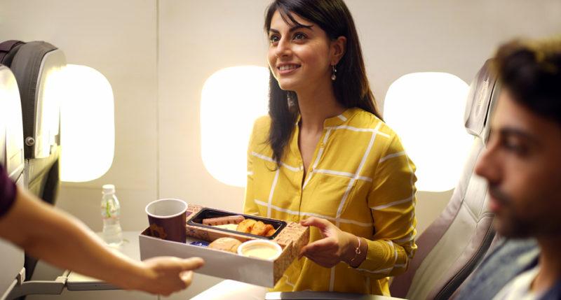 ビスタラ 機内食イメージ