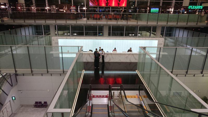 香港国際空港 ザ・ブリッジ キャセイパシフィック ラウンジ