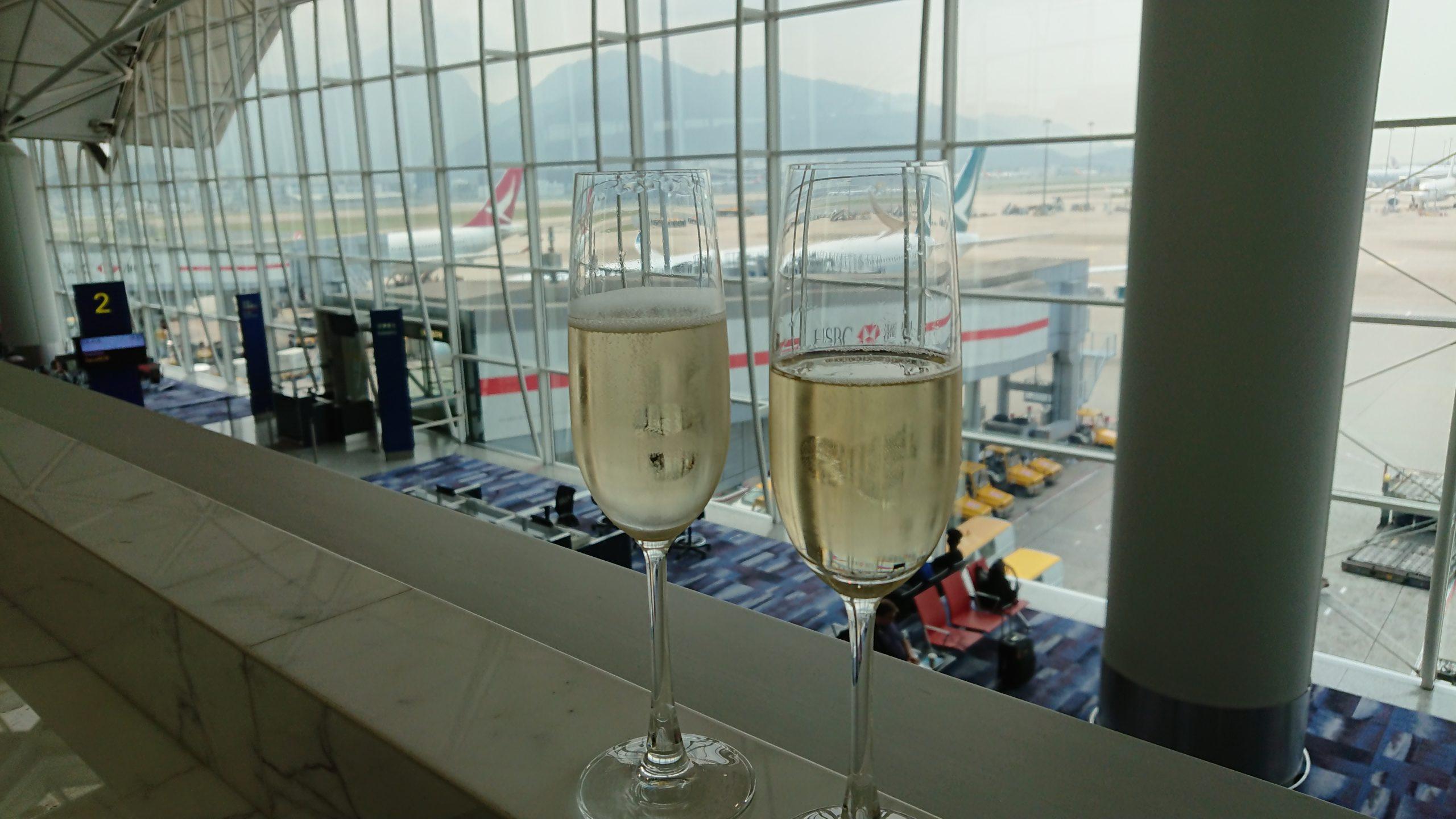 香港国際空港 ザ・ウイング ファーストクラスラウンジ メニュー