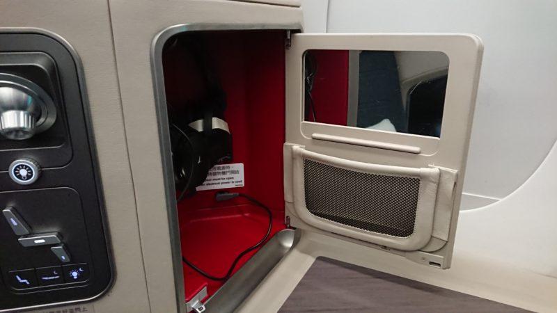 エアバスA350-900型機 キャセイパシフィック ビジネスクラス シート