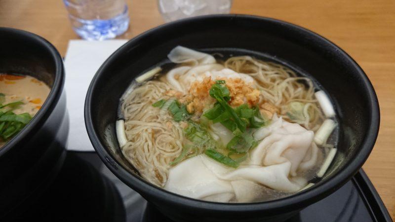 香港 ヌードルバー ワンタン麺
