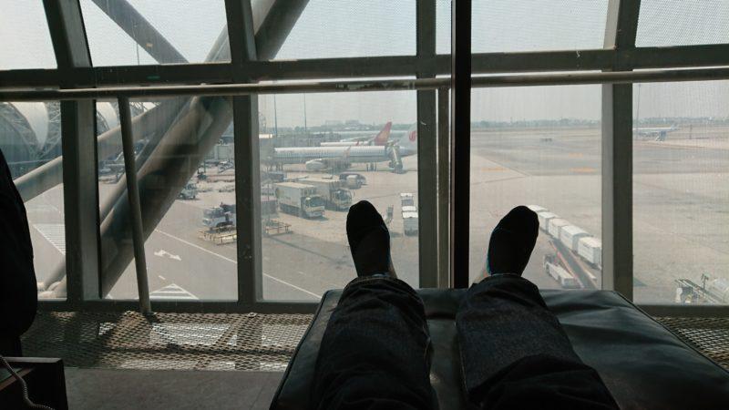 バンコク スワンナプーム国際空港 キャセイパシフィックラウンジ