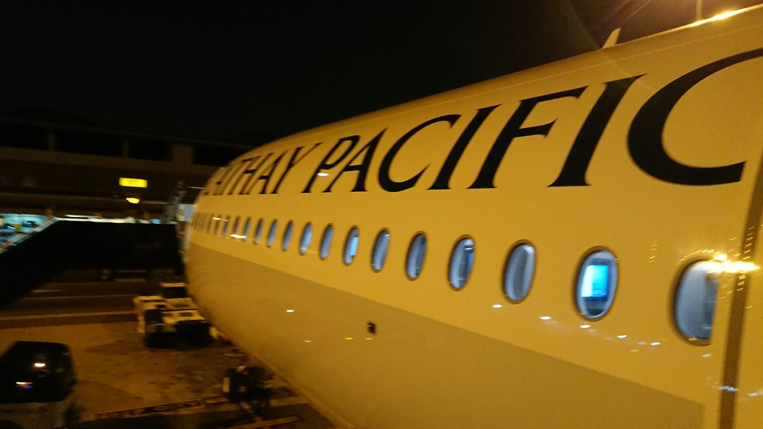 キャセイパシフィック 香港国際空港 乗り継ぎ