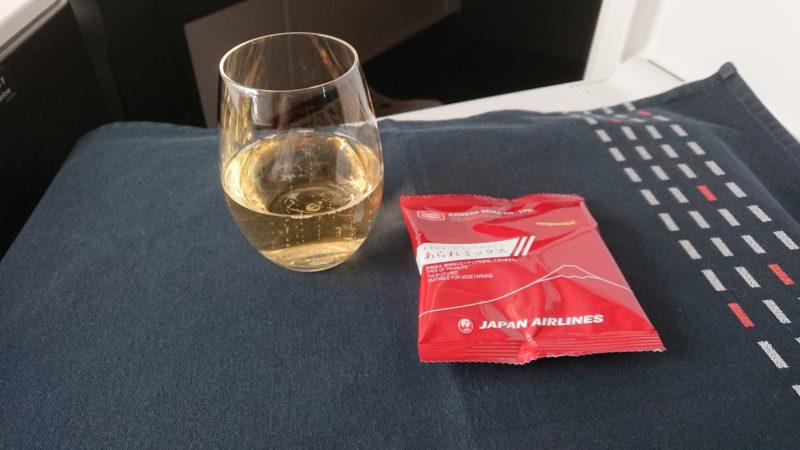 JL723 2019年2月 ビジネスクラス 機内食