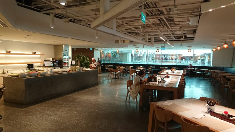 シンガポール空港 カンタス航空 ラウンジ