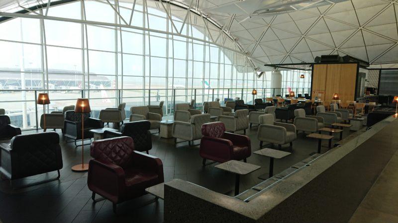 香港国際空港 カンタス航空 香港ラウンジ