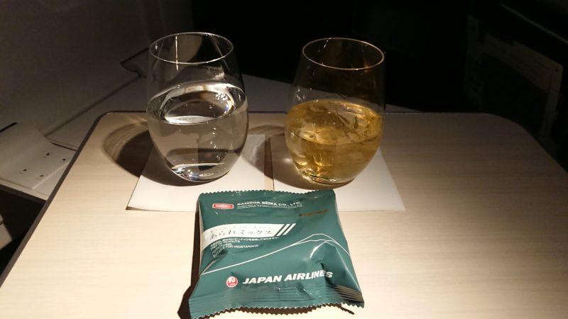 JL038 19.3.14 SIN-HND JAL ビジネスクラス 機内食