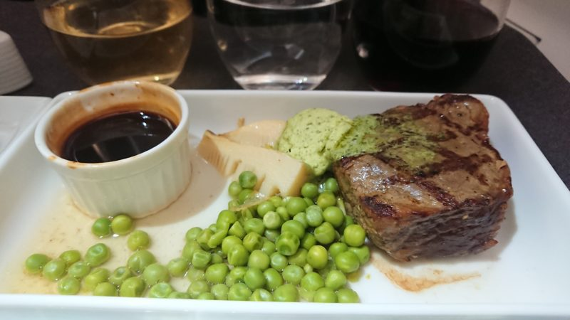 JL723 19.3 JAL ビジネスクラス 機内食