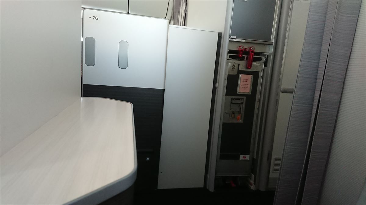 JL067 08MAY19 シアトル-成田 ビジネスクラス