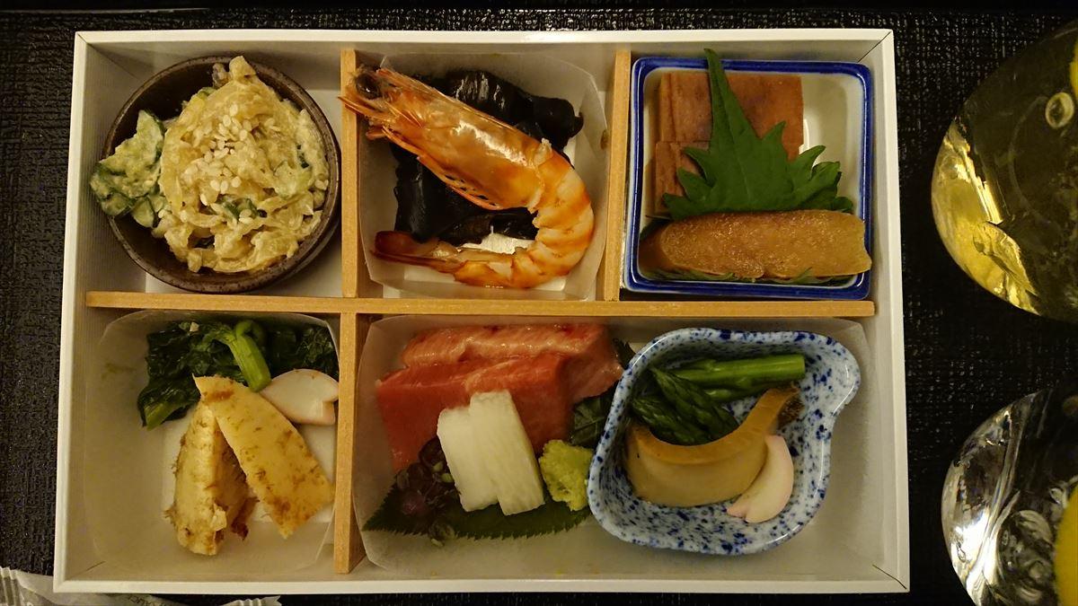 JL729 09MAY19 成田-ジャカルタ ビジネスクラス 機内食