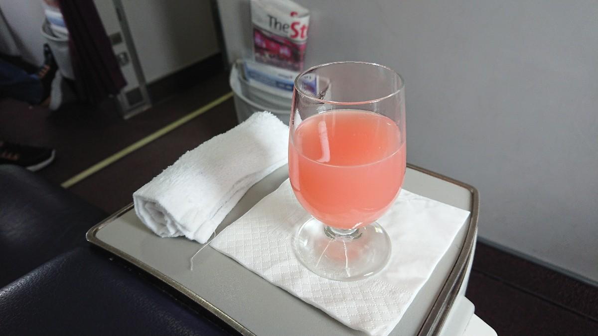 MH710 マレーシア航空 ビジネスクラス 機内食