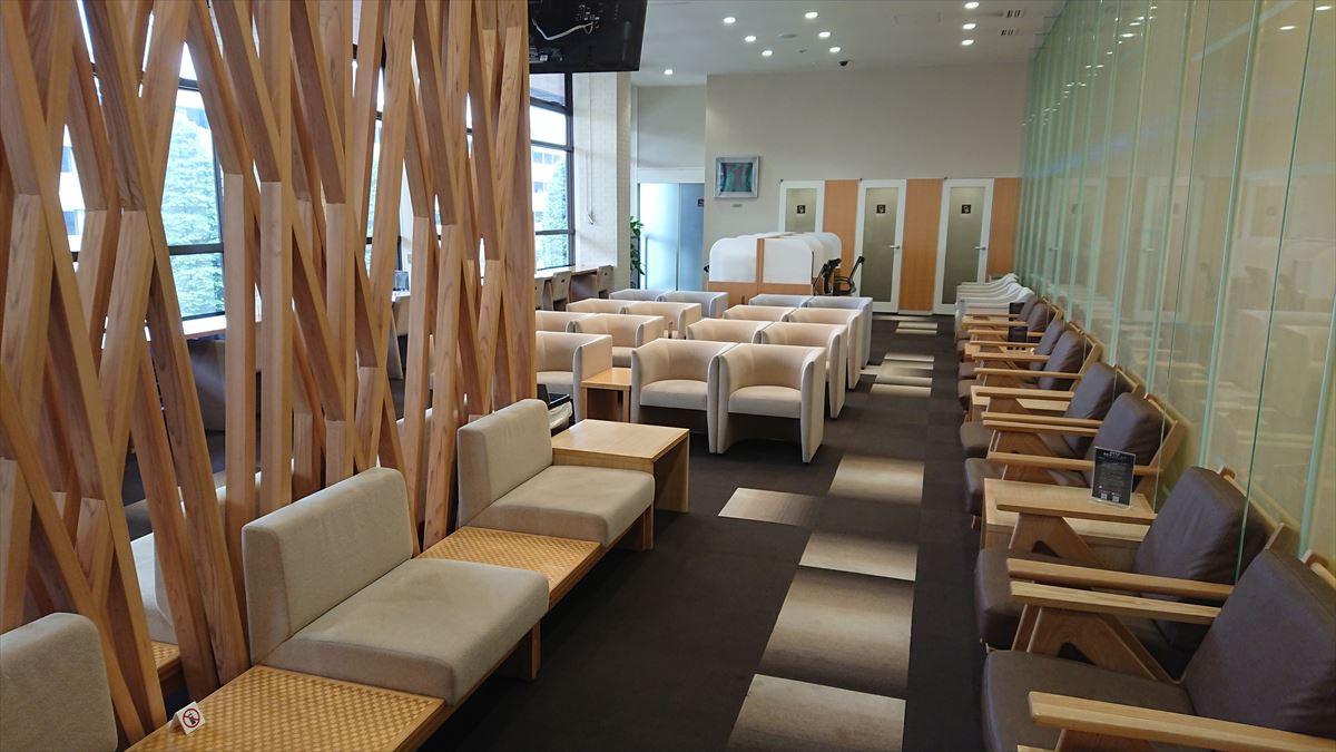 秋田空港 ラウンジ ロイヤルスカイ