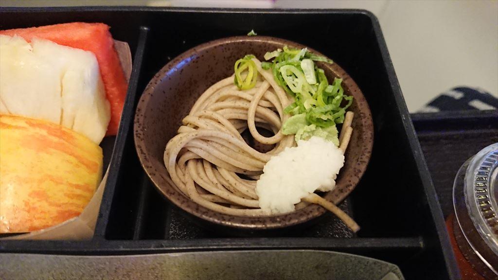 17JUL19 JL822 台北 - 名古屋 ビジネスクラス 機内食