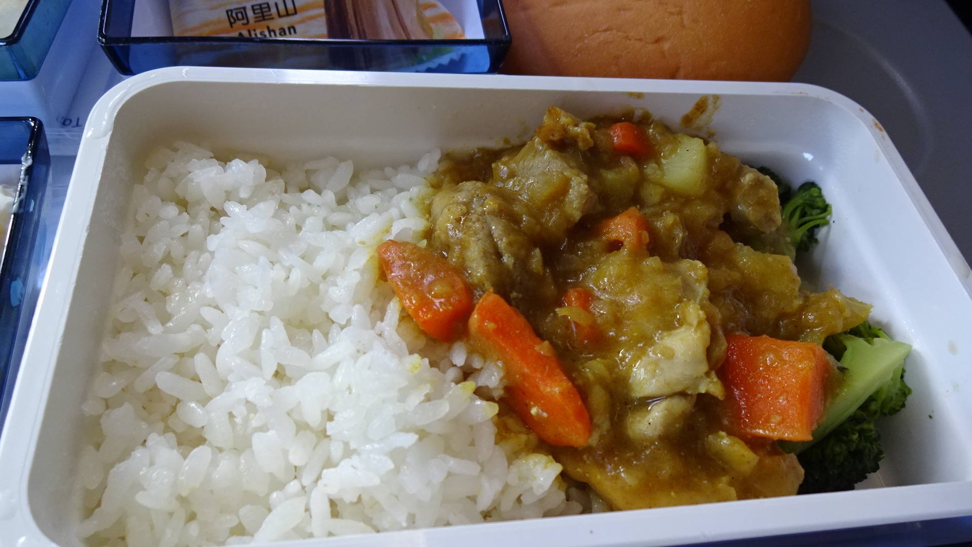 CI106 10APR15 チャイナエアライン エコノミー機内食
