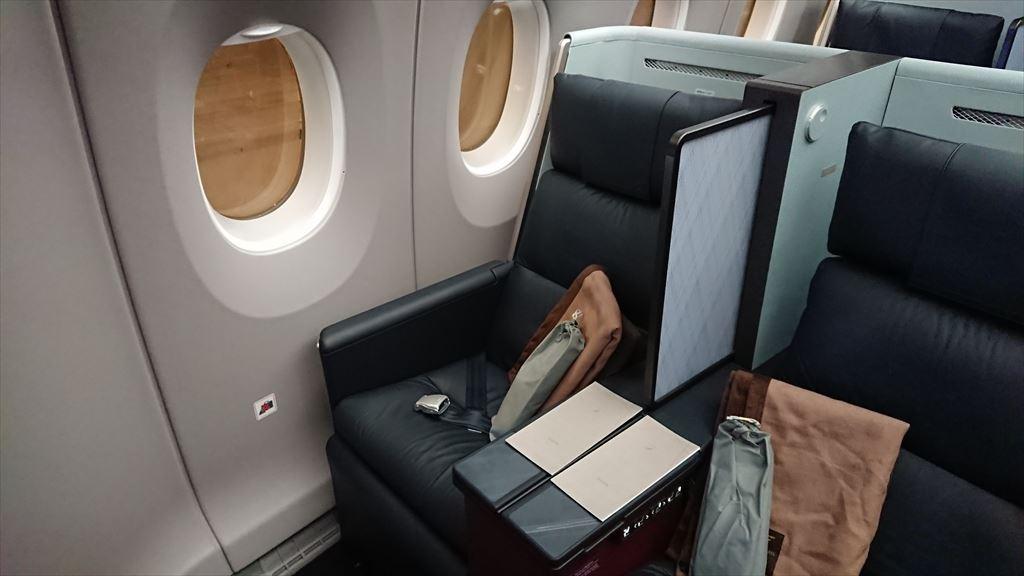 JL332 エアバスA350 FUK-HND 01SEP19 ファーストクラス