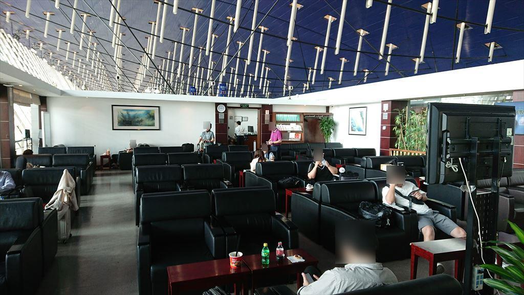 上海 浦東国際空港 ファーストクラスラウンジ No.37