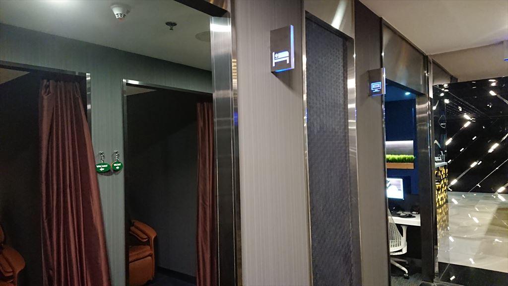 バンコク・スワンナプーム国際空港 エバー航空 EVA LOUNGE