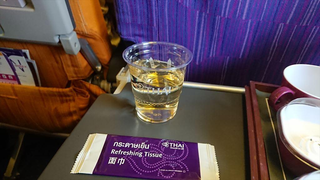 TG417 09SEP バンコク - クアラルンプール エコノミークラス 機内食