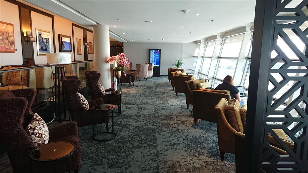 クアラルンプール国際空港 KLIA マレーシア航空 GOLDEN LOUNGE SATELLITE FIRST