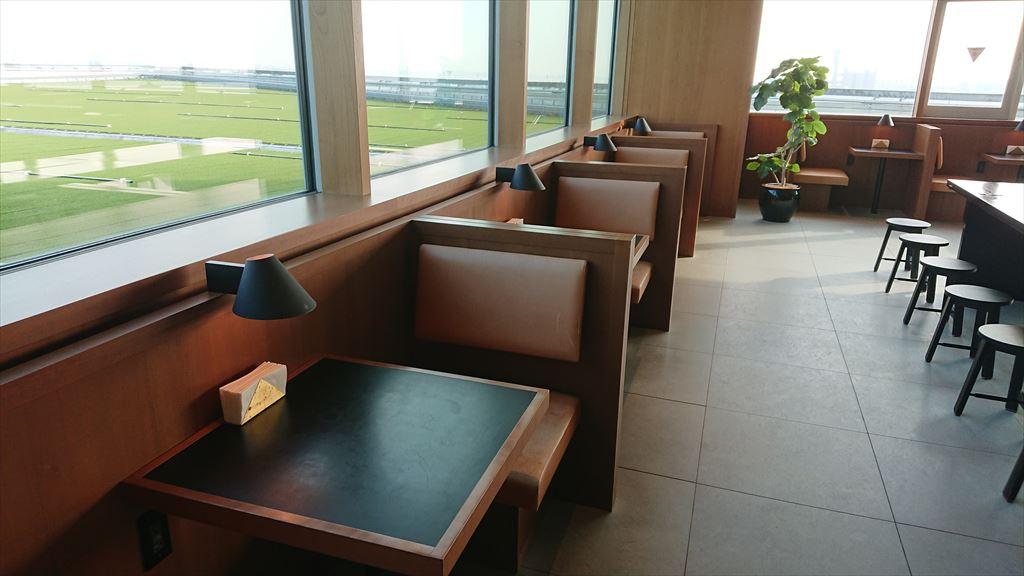 羽田空港 国際線ターミナル キャセイパシフィック ビジネス&ファーストクラス ラウンジ